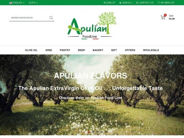 apulianfoodline.com