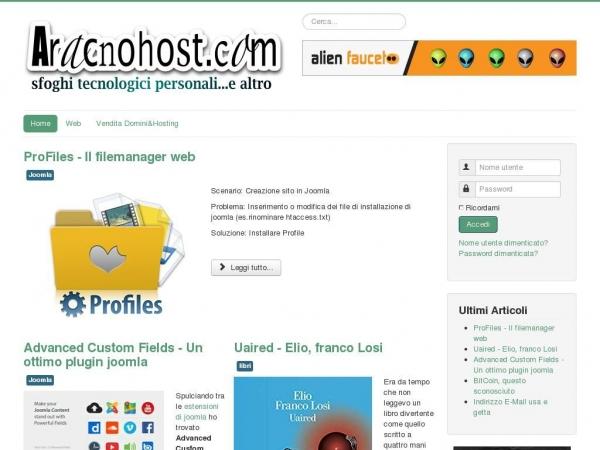 aracnohost.com