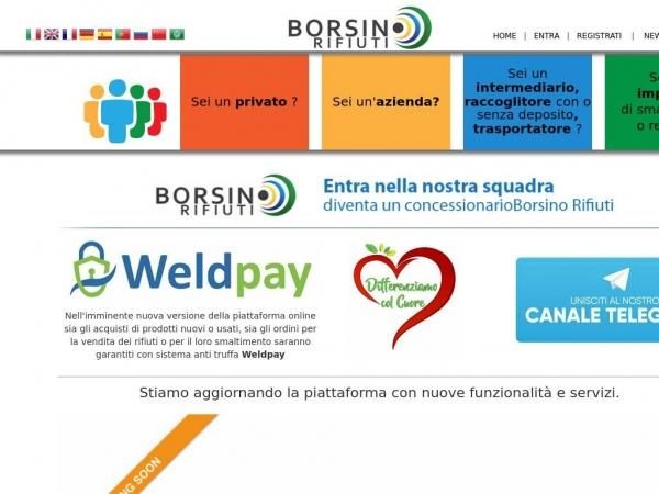 borsinorifiuti.com
