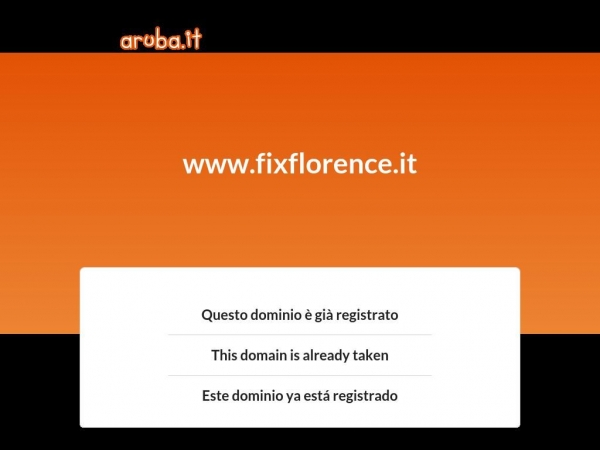fixflorence.it