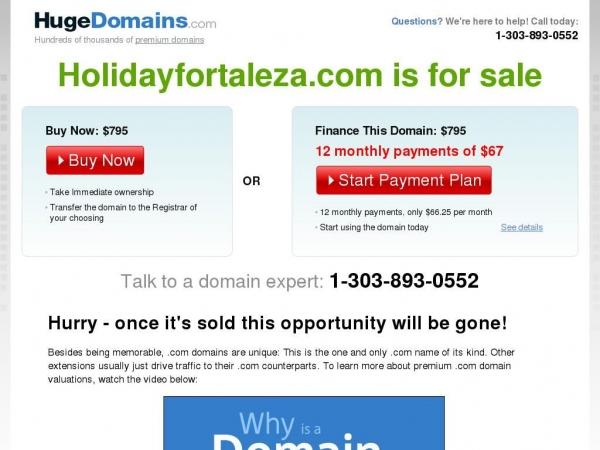 holidayfortaleza.com