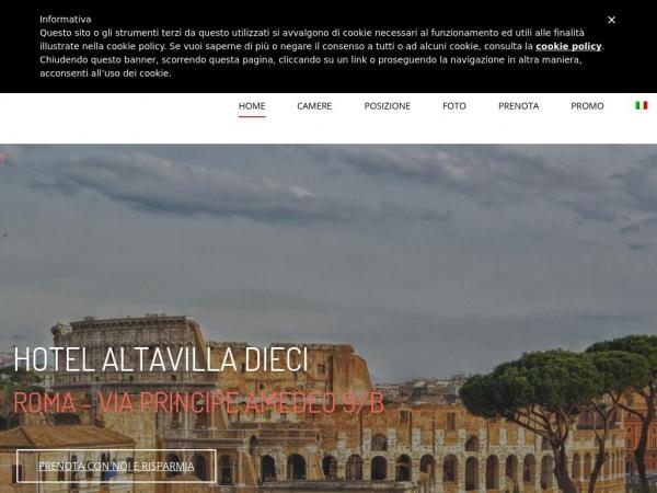 hotelaltavilladieci.it