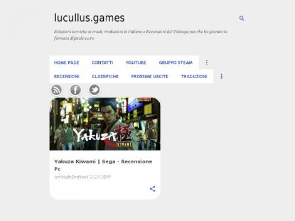 lucullusgames.com