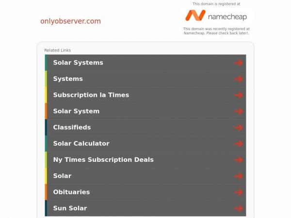 onlyobserver.com