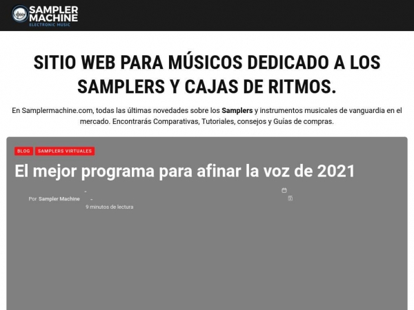 samplermachine.com