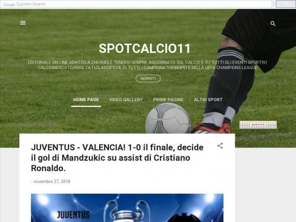 spotcalcio11.com