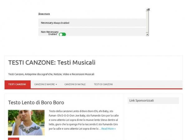 testicanzone.com