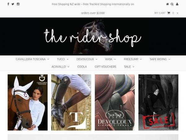 theridershop.nz