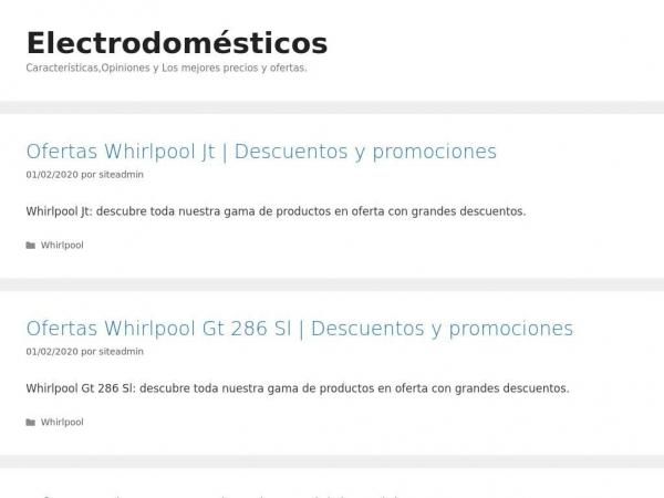 tiendadeelectrodomesticosbaratos.com