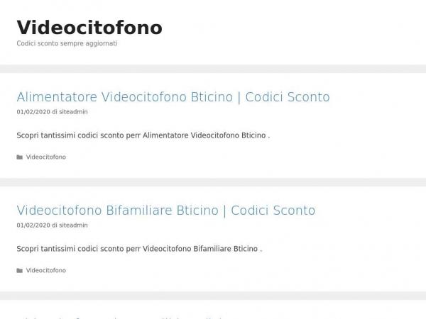 videocitofono.codiciscontoitalia.com