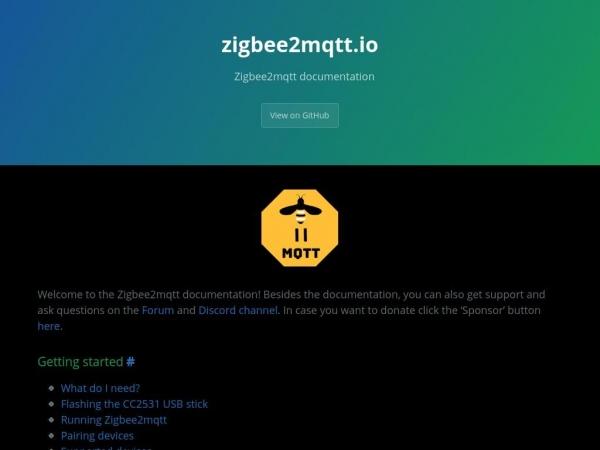 zigbee2mqtt.io