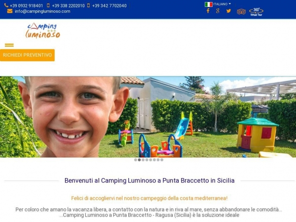 campingluminoso.com
