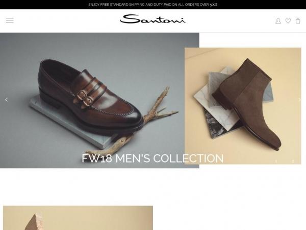 santonishoes.com